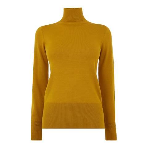 Oasis Mustard Blouson Sleeve Jumper