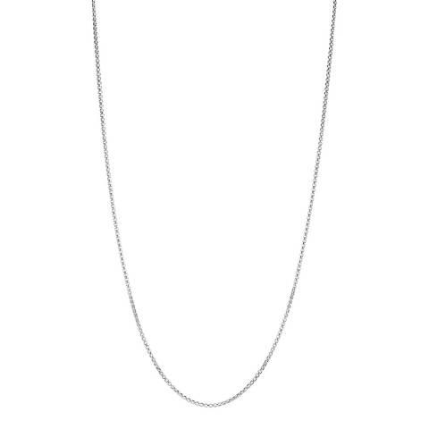 Chamilia® Petite Silver Box Chain Necklace