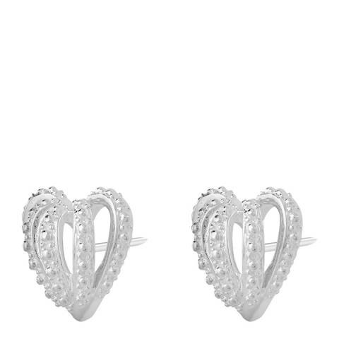 Chamilia® by Swarovski® Crown Hearts Earrings
