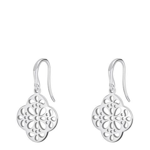 Chamilia® by Swarovski® Quatrefoil Lace Drop Earrings