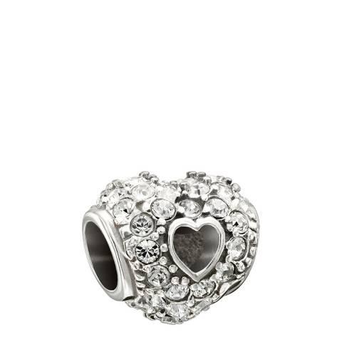 Chamilia® by Swarovski® Pave Open Heart Charm