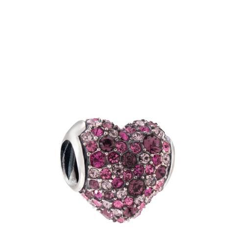 Chamilia® by Swarovski® Pave Gems Heart Charm