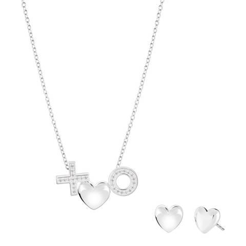 Chamilia® Amour Du Jour XO Heart & Earring Set