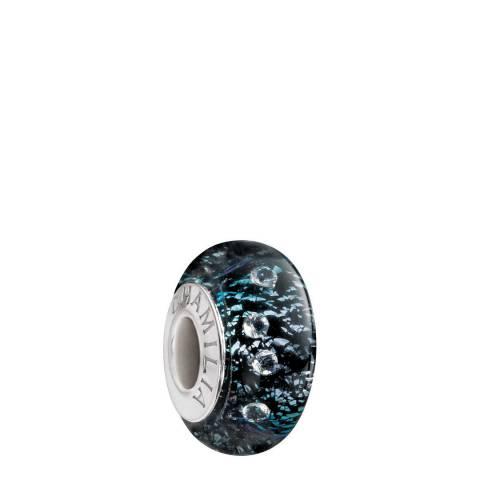Chamilia® by Swarovski® Black Shine Murano Charm