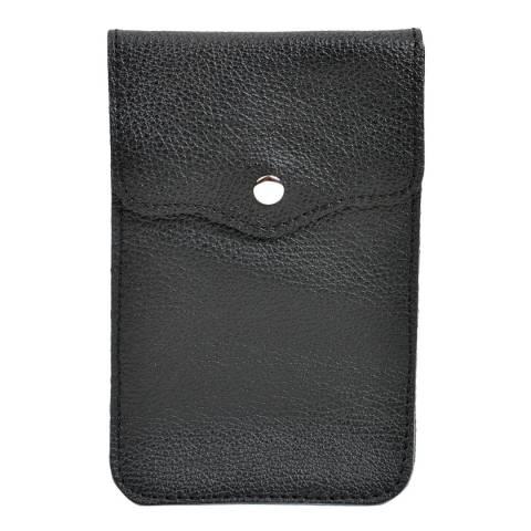 Isabella Rhea Black Leather Crossbody Bag