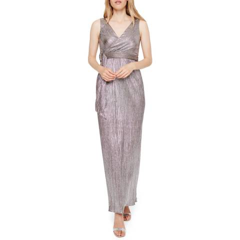 Damsel In A Dress Bronze Metallic Hazar Dress