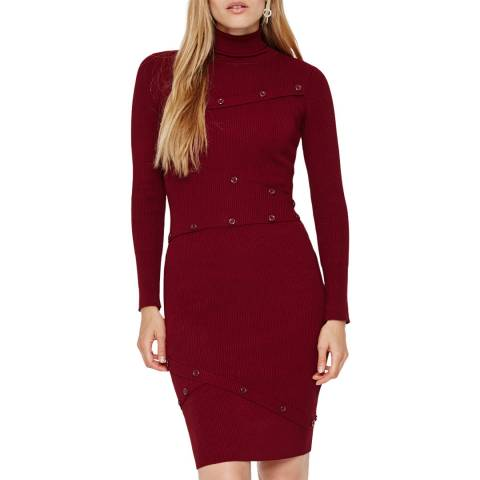 Damsel In A Dress Burgundy Mara Knit Dress