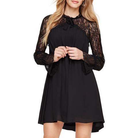 Damsel In A Dress Hilda Lace Tunic Black