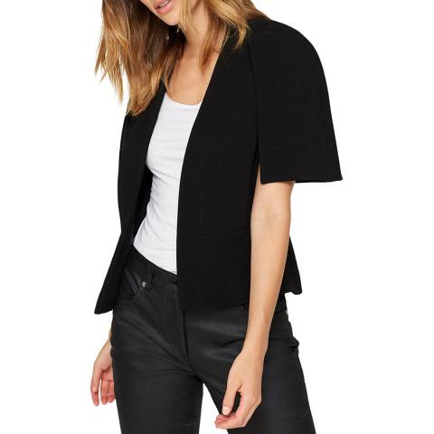 Damsel In A Dress Black Fujiwara Cape Jacket