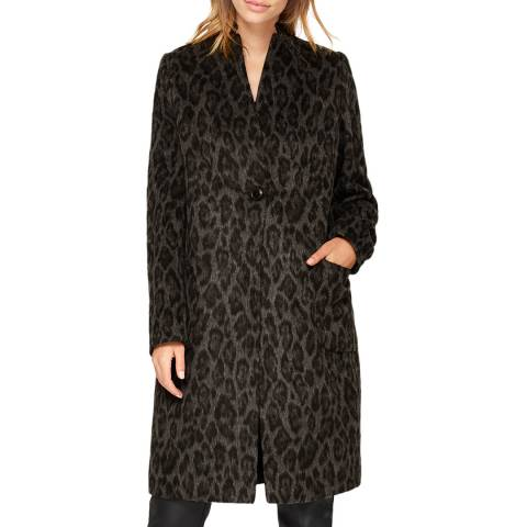 Damsel In A Dress Multi Leopard Print Coat