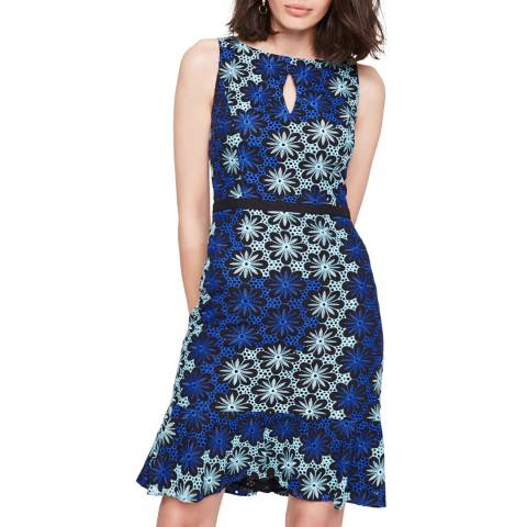 Damsel In A Dress Blue Susanna Floral Dress