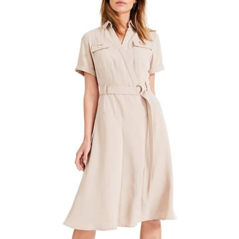 Damsel In A Dress Stone Ennis Trench Dress