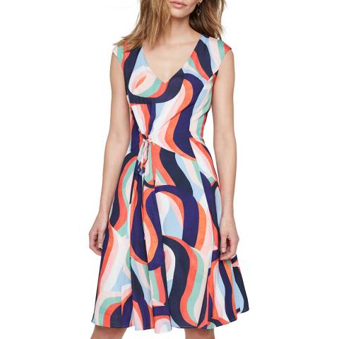 Damsel In A Dress Multi Print Caprice Dress