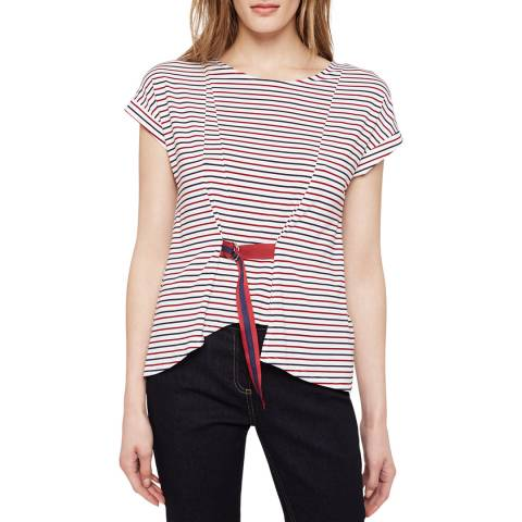 Damsel In A Dress Multi Stripe Fitzroy Top