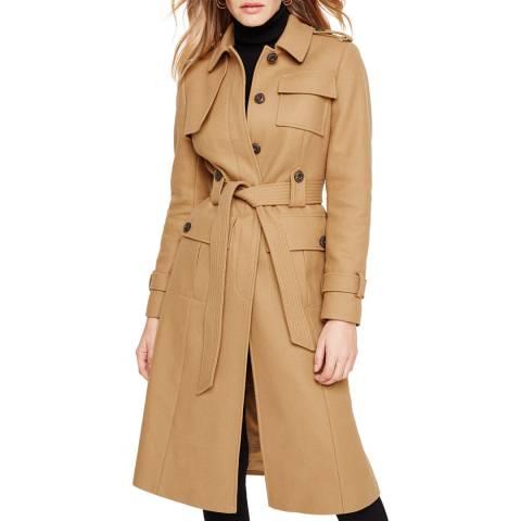 Damsel In A Dress Camel Eleni Belted Coat