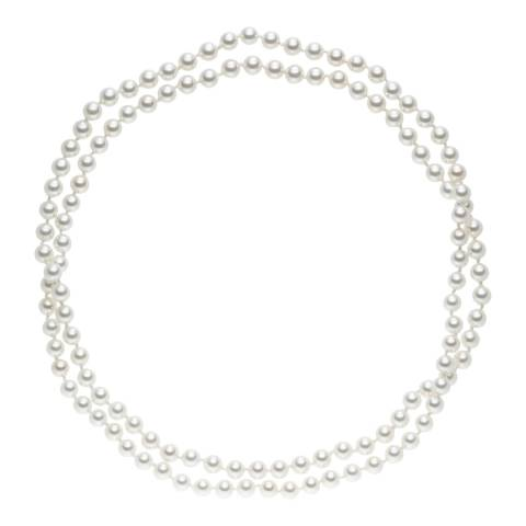 Pearls of London White Organic Pearls Necklace