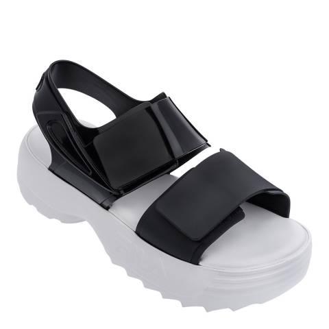 Melissa + FILA Black Fila Contrast Sandals