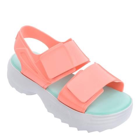 Melissa + FILA Peach Fila Contrast Sandals