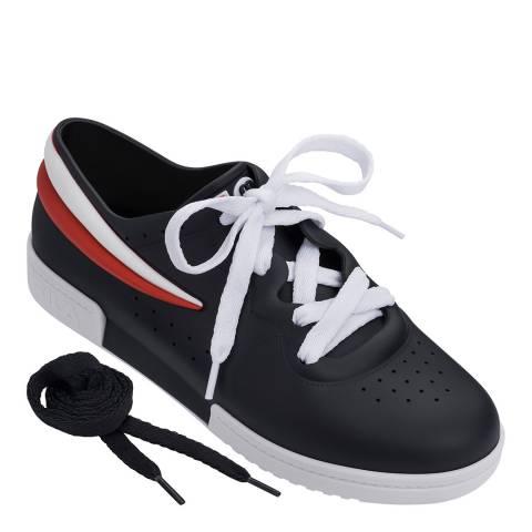 Melissa + FILA Black Fila Contrast Sneakers