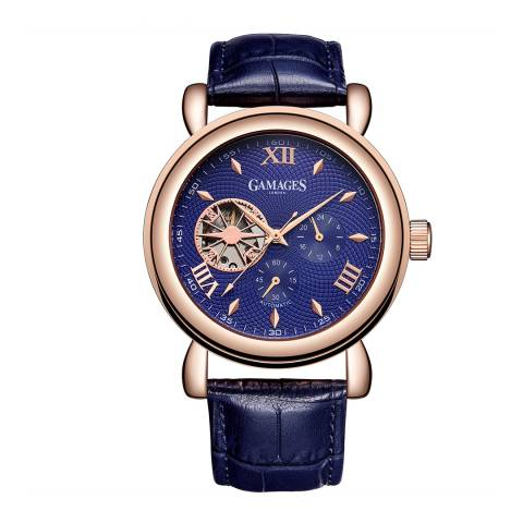 Gamages of London Men's Hour Timer Automatic Rose Watch