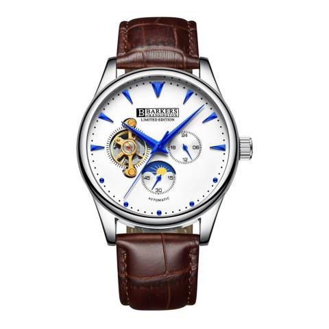 Barkers of Kensington Men's Blue/Gold Automatic Steel Watch