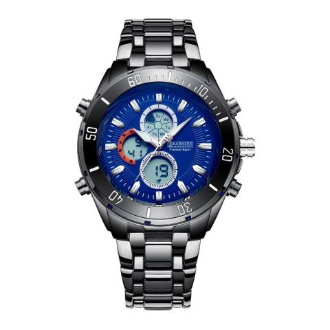 Barkers of Kensington Men's Blue Premier Sport Blue Watch