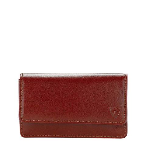 Aspinal of London Cognac Business Card Case