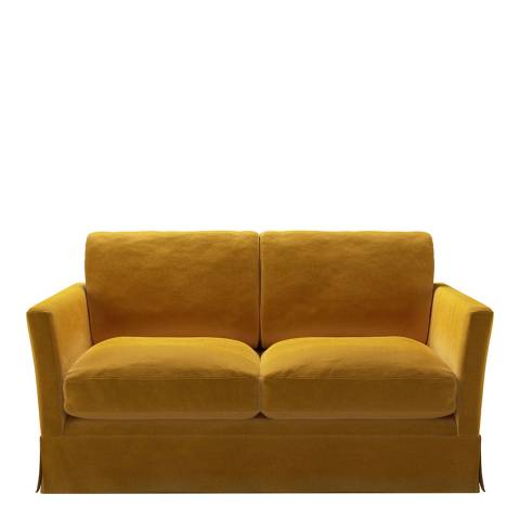 sofa.com Otto 2 Seat Sofa in Butterscotch Cotton Matt Velvet