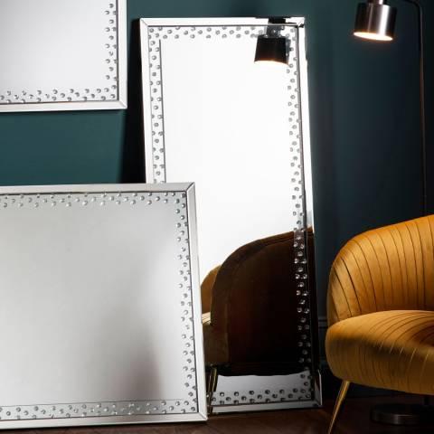 Gallery Eastmoore Silver Mirror 60x135cm
