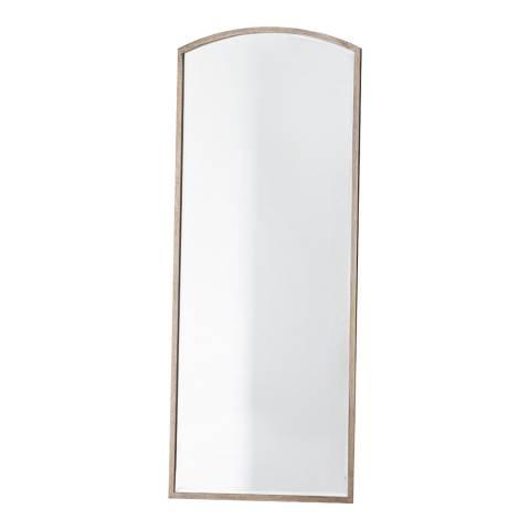 Gallery Antique Silver Higgins Arch Mirror 60x150cm