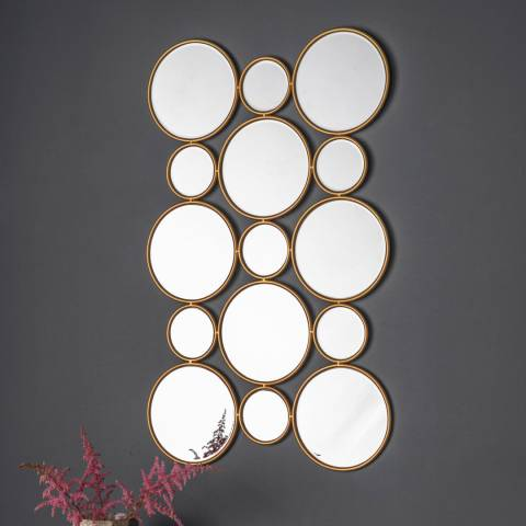 Gallery Lincoln Circles Mirror 56x91cm