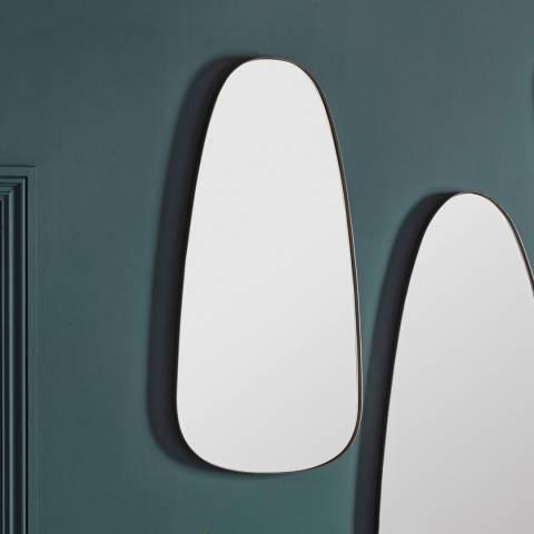 Gallery Vintola Mirror Pewter 46x4x92cm