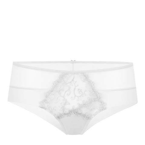 Le Vernis White Hipster Brief