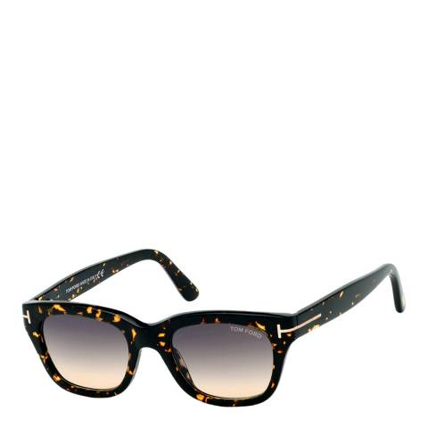 Tom Ford Unisex Brown/Graduated Tom Ford Sunglasses 50mm