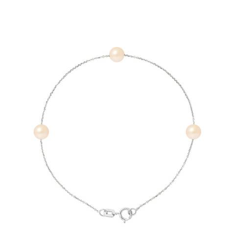 Manufacture Royale Pink Style Pearl Bracelet 5-6mm