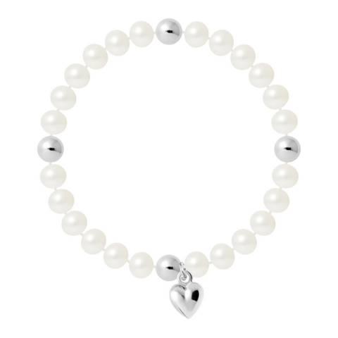 Manufacture Royale Natural White Heart Trinket Bracelet