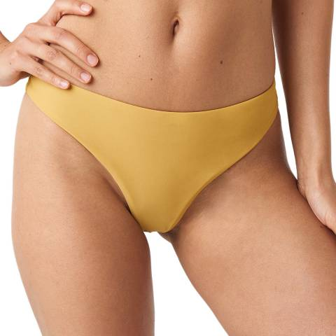 NA-KD Yellow Bikini Bottom