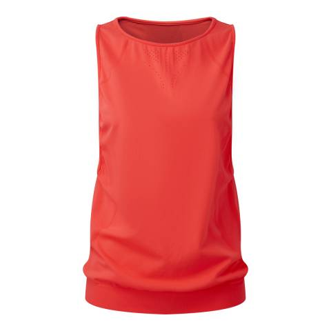 Tribe Sports Women's Fluor Coral Racer Back Vest