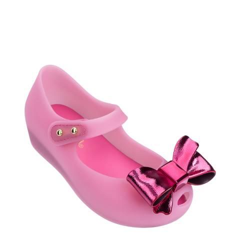 Mini Melissa Pink Mini Ultragirl Dream Bow Shoe