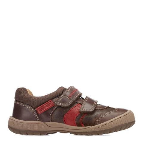 Start-Rite Baby Brown Flexy Tough Leather Shoes