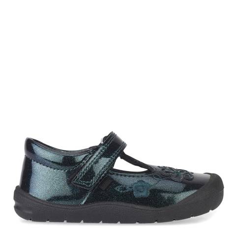Start-Rite Black First Mia Leather Patent Shoes