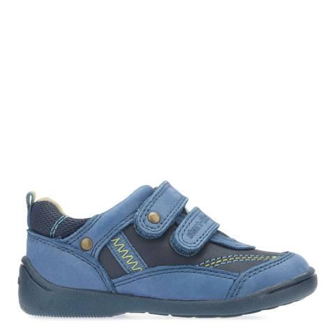 Start-Rite Navy Start Rite Super Soft Leo Leather Shoes
