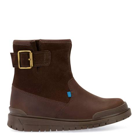 Start-Rite Brown Rush Leather Boots