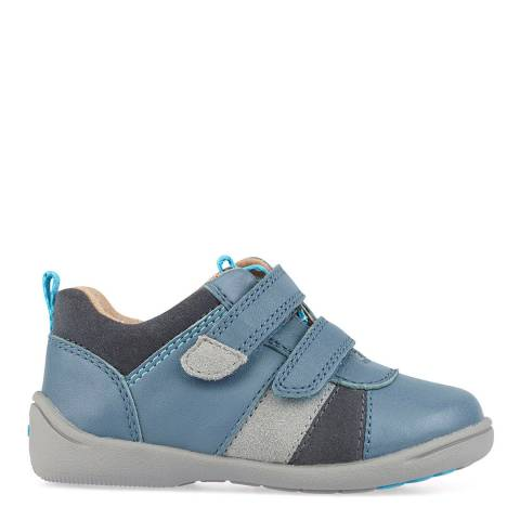 Start-Rite Blue Grip Leather Shoes
