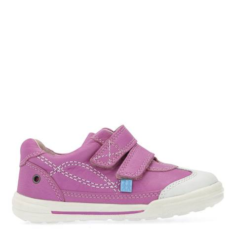 Start-Rite Pink Flexy Soft Turin Leather Shoes