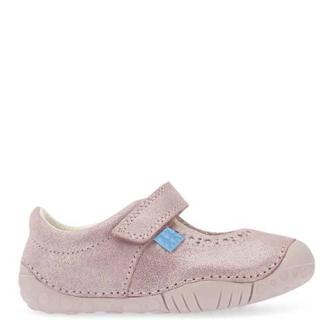 Start-Rite Pink Cruise Metallic Leather Shoes