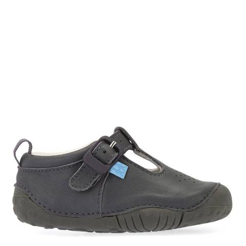 Start-Rite Grey Jack Leather Shoes