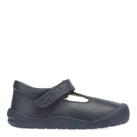 Start-Rite Navy First Alex Leather Shoes