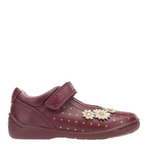 Start-Rite Red Start Rite Leather Daisy Shoes