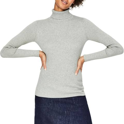 Boden Grey Tilly Roll Neck Jumper